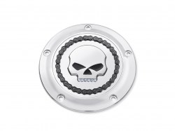 SKULL-CHAIN-COLLECTION-CHROME-Derby-Cover-Jeweled-Skull-25700062