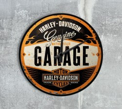 nostalgic-hd-wall-clock-garage-style